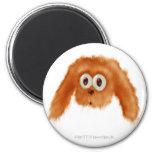 Brown Bunny Critter Refrigerator Magnet