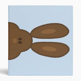 Brown Bunny Face Binder