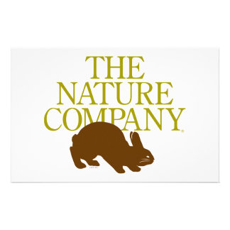 Brown bunny logo stationary stationery paper