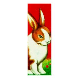 Brown Bunny Mini Business Card