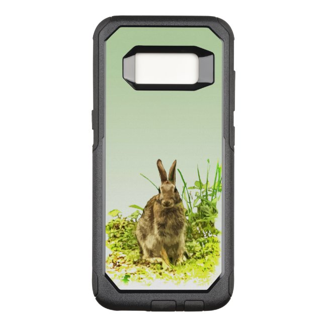 Brown Bunny Rabbit in Grass Galaxy S8 Case