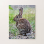 Brown Bunny Rabbit Jigsaw Puzzle