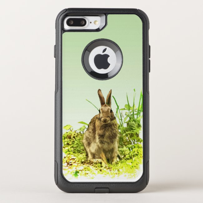Brown Bunny Rabbit OtterBox iPhone 7 Plus Case