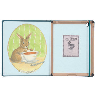 Brown Bunny with Cup of Coffee
