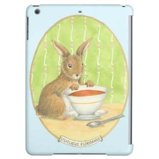 Brown Bunny with Cup of Coffee Case For iPad Air