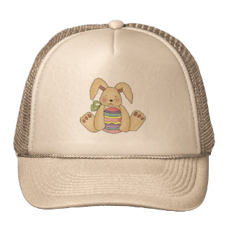 Brown Bunny With Egg T-shirts and Gifts Trucker Hat