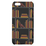 Brown, Burgundy and Mustard Color Books on Shelf. Cover For iPhone 5C