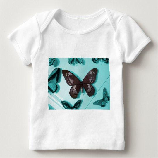 Brown Butterfly Baby T-Shirt