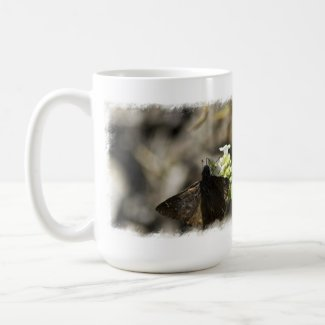 Brown Butterfly Coffee Mugs