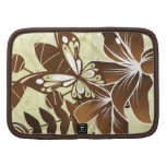 Brown butterfly floral Rickshaw folio Planner