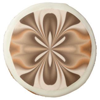 Brown Butterfly Sugar Cookie