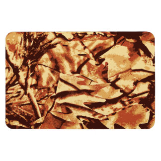Brown Camo Camouflage Gifts for Hunters Vinyl Magnet