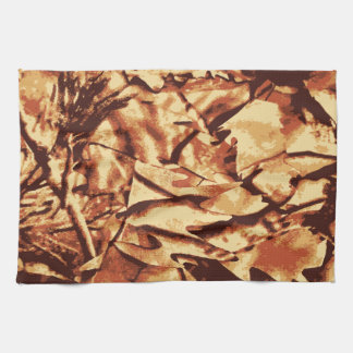 Brown Camo Camouflage Gifts for Hunters Towel