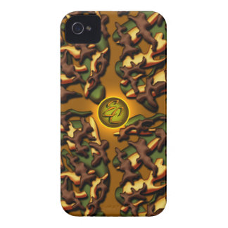 Brown Camo Creations Case-Mate iPhone 4 Case