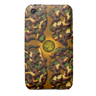 Brown Camo Creations iPhone 3 Case-Mate Case