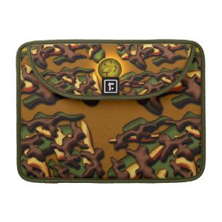 Brown Camo Creations Sleeve For MacBooks