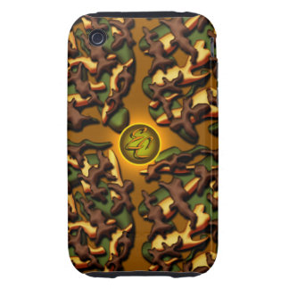Brown Camo Creations Tough iPhone 3 Cases
