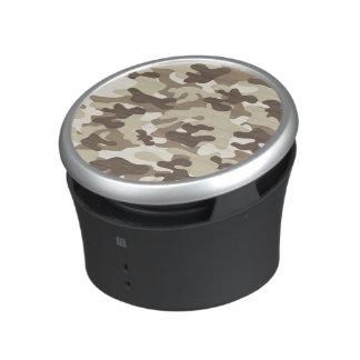 Brown Camo Design Bluetooth Speaker
