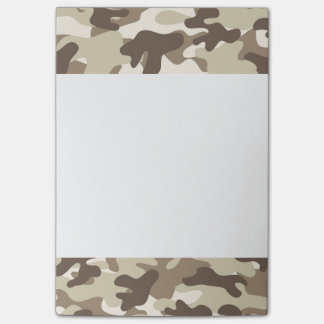 Brown Camo Design Post-it Notes