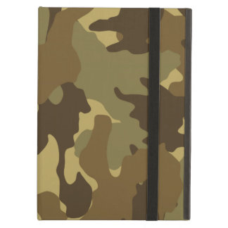 Brown Camo Military Powis iCase iPad Air Cases