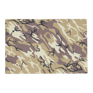 Brown Camo Placemat