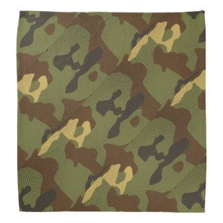 Brown Camouflage Bandana