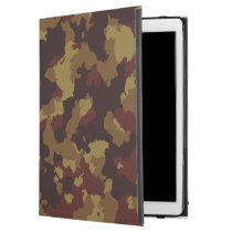 Brown Camouflage iPad Pro Case
