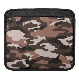 Brown camouflage | iPad Sleeves