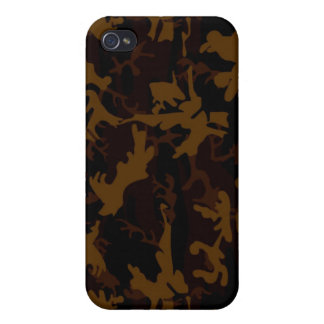 brown camouflage iphone4 Case Cover For iPhone 4