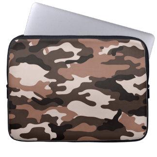 Brown camouflage | Neoprene Laptop Sleeve