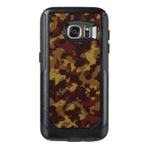 Brown Camouflage OtterBox Samsung Galaxy S7 Case
