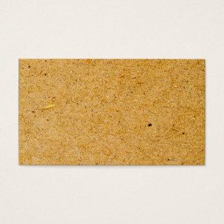 Brown Cardboard Background Texture Design Business Card