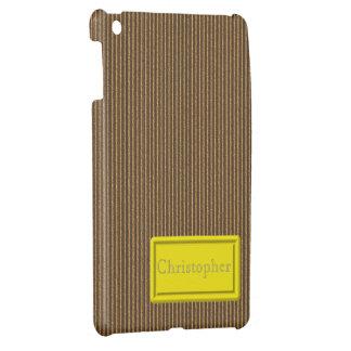 Brown Cardboard iPad Mini Case Template