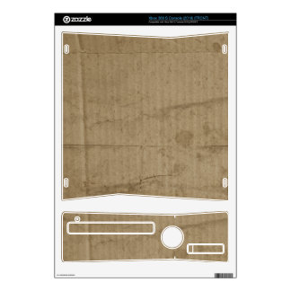 Brown Cardboard Skins For Xbox 360 S