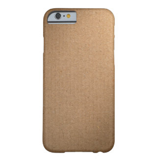 Brown Cardboard Texture For Background Barely There iPhone 6 Case