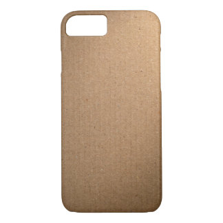 Brown Cardboard Texture For Background iPhone 7 Case
