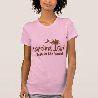 Brown Carolina Girl Best in the World T-Shirt
