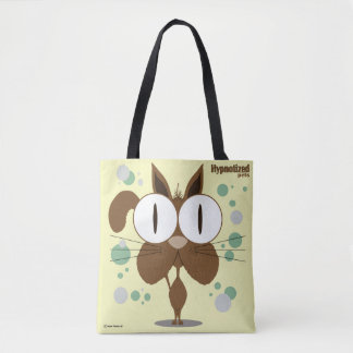 Brown Cat Custom All-Over-Print Tote Bag