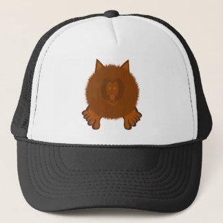 Brown Cat Pom Pom Pal Hat