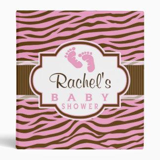 Brown, cebra rosada raya la fiesta de bienvenida