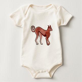 Brown Celtic Brindle Greyhound Bodysuit