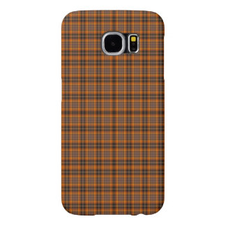 Brown checked Case