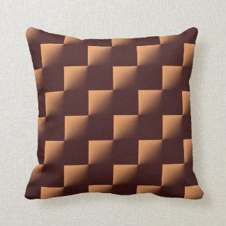 Brown Check Throw Pillows : Light Brown Pillows - Decorative & Throw Pillows Zazzle