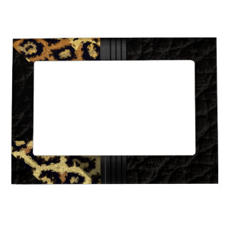 Brown Cheetah Magnetic Frame
