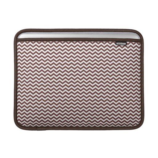 Brown Chevron Sleeves For MacBook Air