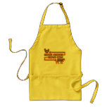 Brown Chicken Brown Cow Adult Apron