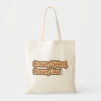 Brown Chicken Brown Cow bag
