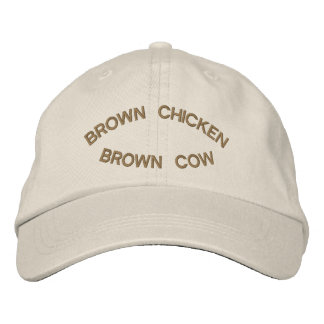 Brown Chicken Brown Cow Cap