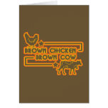 Brown Chicken Brown Cow Cards