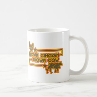 Brown Chicken Brown Cow Coffee Mug